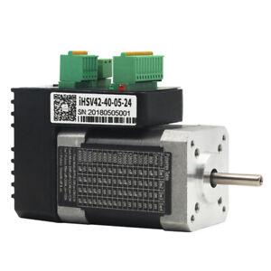 52w Nema17 0.125NM Integrated Servo Motor 24VDC 4000rpm JMC iHSV42-40-05-24