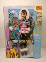 My Scene Nolee Chillin' Out 2001 Mattel C1589 NRFB Snowboard, Goggles, Helmet