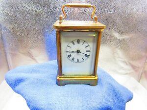Carriage clock by Waterbury