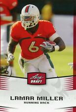 2012 LEAF DRAFT PICK #28 - LAMAR MILLER - ROOKIE - MIAMI DOLPHINS-FREE SHIPPING!