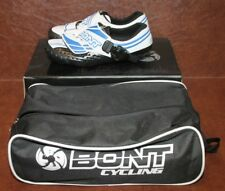 Bont Cycling Shoes A-3 A3 Moldable White Blue Size 36 US 3.5 A3MMWB-36