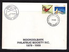 SOUVENIR  COVER: MOOROOLBARK PHILATELIC SOCIETY 1989 COVER