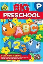 School Zone - Big Preschool Workbook - Ages 4 by School Zone Staff [Paperback]