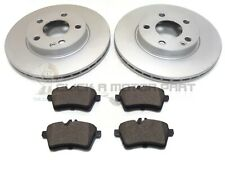 MERCEDES A CLASS A160 2.0 CDi 2005-2012 FRONT 2 BRAKE DISCS AND PADS SET NEW