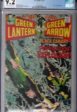 GREEN LANTERN #81 (Dec 1970)  CGC 9.2 OWWP * NEAL ADAMS COVER * Black Canary *