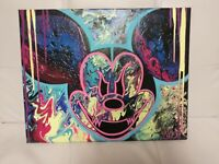 Disney Evil Mickey mouse ABSTRACT NYC GRAFFITI CANVAS PAINTING  by MAKE$ 16X20