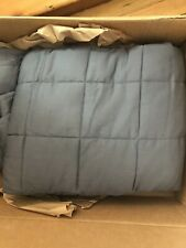Ynm weighted blanket, 48x72, Twin or Full, Dark grey, 20 lbs.