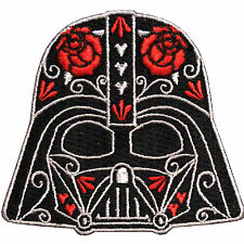 Star Wars Official Darth Vader Helmet Dark Side Force Lucasfilm Iron On Patch