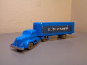 WIKING GERMANY VINTAGE 1950'S WHITE KÜHLWAGEN TRUCK HO SCALE RARE VERY GOOD