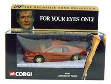 CORGI 007 Definitive Bond Lotus Esprit For Your Eyes Only 04701