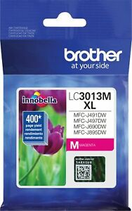 Genuine Brother LC3013M XL Ink Magenta Color Ink Cartridge High Yield