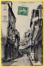 cpa 18 - BOURGES (Cher) Rue MIREBEAU Animé Commerces Ed. Nouvelles Galeries