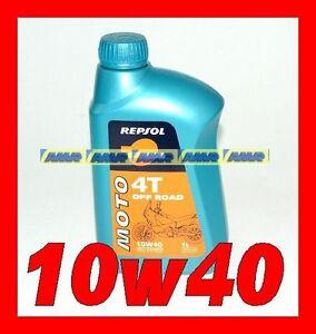 1 LITRO OLIO REPSOL 4t Off Road 10w40 MA2 100% synthetic