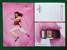 6197 Advertising Pubblicita' Cartolina Card 15x10 cm - LAURENS OROLOGI WATCH