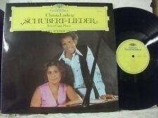 2530 404 SCHUBERT Lieder CHRISTA LUDWIG IRWIN GAGE Piano DG STEREO GERMANY 1974