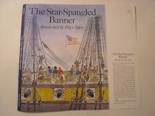 The Star-Spangled Banner, Peter Spier, Dust Jacket Only
