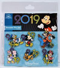 Disney Exclusive 2019 Mickey Minnie Goofy Donald Daisy Pluto Booster 5 Pin Set