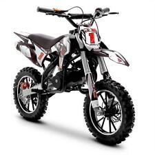 Funbikes MXR Black Kids Dirt Bike – 50cc Petrol Motorbike Moto Cross Scrambler