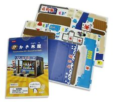 Japanese Card Construction Kit Puzzles - Shaved Ice Stall