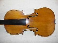 alte schöne 4/4 Geige Violine halbfertig nie gespielt old violin