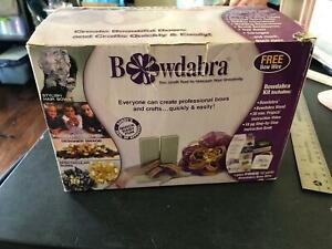 Bowdabra Bow Maker W/ VHS Tape