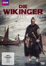DIE WICKINGER-LEGENDE UND WAHRHEIT -SNOW,DAN/PARCAK,SARAH   DVD NEU