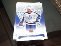 2017 UD TORONTO MAPLE LEAFS CENTENNIAL HOCKEY COMPLETE BASE SET 100 CARD