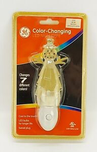 G.E. Snowman Color Changing LED Night Light ~ Sealed Package