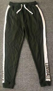 Lonsdale Men's Fleece Gym Jogger Track Pants Trousers Trackies Sweat Pants S-XXL