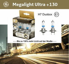 GE General Electric H7 Megalight Ultra +130% Duobox 12V 55W Halogen Lampe