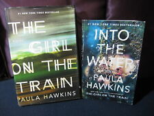 Paula Hawkins - Girl on the Train and Into the Water - Incl. Shipping!