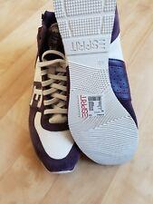 Esprit Damen Schuhe Sneaker Gr. 40 Neu Hammer Lila Weiß Neupreis 59,95 EUR