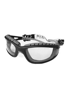 Bolle Tracker MTB Specs Safety Glasses Clear Lens FREE BAG Anti Fog Scratch