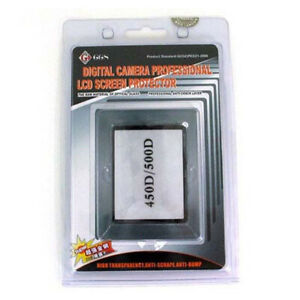 GGS Glass LCD Screen Protector For Canon EOS 450D 500D XSI