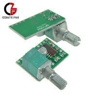 1/2/5/10PCS PAM8403 5V 2 Channel Audio Power Amplifier Board With Volume Control