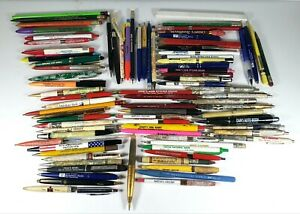 huge lot of vintage advertising pencils and pens estate find as is