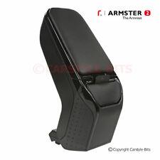 RENAULT CAPTUR '2013-2017 Armster 2 Armrest (for RIGHT sided hand brake) - BLACK