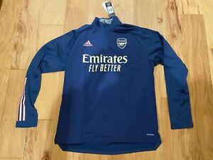 New Arsenal Adidas Training Top 2020-21
