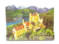Schloss Hohenschwangau Bayern 2D Holz Magnet 10 cm Souvenir Germany