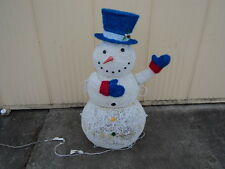 Everstar 4 Foot Twinkling LED Snowman 150 Lights Indoor Outdoor 673673