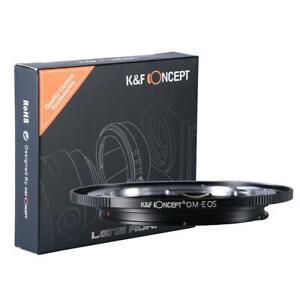 K&F Concept Lens Mount Adapter Olympus Zuiko OM Lens to Canon EF EF-S EOS Camera