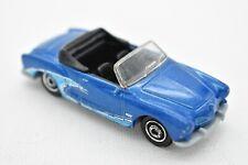 2008 Matchbox Type 14 Karmann Ghia Blue Custom Wave Convertible 1969