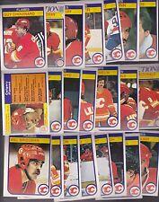 1982 - 83 OPC Team SET Lot of 22 Calgary FLAMES NM+ o-pee-chee Lanny CHOUINARD