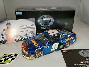 2018 1/24 Chase Elliott SunEnergy1 Watkins Glen 1st Cup Win Elite COLOR CHROME