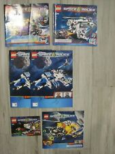 """6 Lego """"Space Police"""" Instruction Manuals only 5969, 5972, 5974, 5982, 5983"""