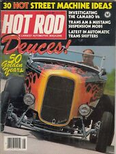 HOT ROD Magazine / August 1982 / Deuces; 50 Golden Years / 30 Hot Street Machine