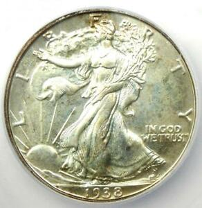 1938 PROOF Walking Liberty Half Dollar 50C - ICG PR68 (PF68) - $9,000 Book Value
