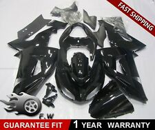 Bodywork Fairing Kit for KAWASAKI NINJA ZX-10R 2006-2007 ABS Gloss Black Painted
