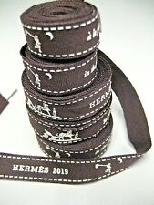 "HERMES Gift RIBBONS, Year 2019 ""in the pursuit of dreams...""  Various Length,"