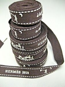"""HERMES Gift RIBBONS, Year 2019 """"in the pursuit of dreams...""""  Various Length,"""